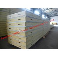 Quality Customized Heat Insulation Cost Saving Insulated PU Sandwich Panels For Wall Systems wholesale
