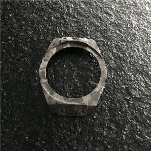 Quality Women Smart Carbon Fiber Watch Case , Carbon Fibre Machining Forged Surface wholesale