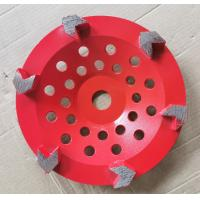 Quality Arrow segment Diamond Cup Diamond Grinding Wheels Grinding Concrete With Customized Color wholesale