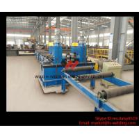Cheap Mechanical Power Type H Beam Straightening Machine For H Beam Flange Straightening for sale