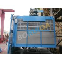 Quality 2000 kg Rack And Pinion Hoists with Lifting Height 250m , 12 - 38 Passenger wholesale