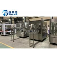 Quality High Efficiency Gas Beverage / Cola Pet Bottle Filling Machine Stainless Steel 304 / 316 wholesale