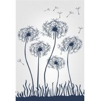 Quality Living Room Wall Panels Interior Bamboo Fiber Mold Resistant Flying Dandelion wholesale