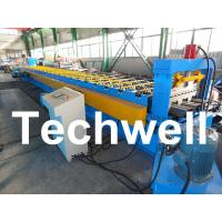 Quality PLC Control System Steel Deck Roll Forming Machine With 24 Forming Stations wholesale