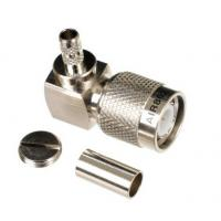 Buy cheap TNC Plug-Male Right Angle Connector for Cable Types: AIR802 CA195, RG58/141/142, Times' LMR195 cable from wholesalers