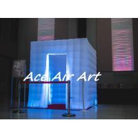 Quality 2017 colorful inflatable wedding photo booth led inflatable photo booth enclosure for sale wholesale