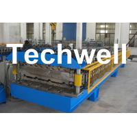 Quality Custom Automatic Double Layer Sheet Roll Forming Machine With High Quality TW-DLM wholesale
