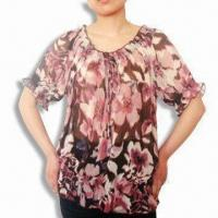 Quality Women's Blouse with Flower's Design wholesale