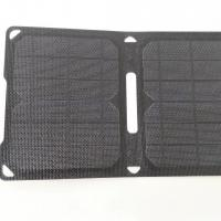 China Waterproof Foldable EFTE Solar Panel Charger Sunpower Material 2 USB For Mobile on sale