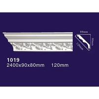 Quality Factory Price PU decoration molding Curved Roof Cornice Product 1019 wholesale