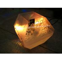 Quality 12 Watt LED Bubble Making Machines Built-in Sound Active LEDs For Home Use Private Party X-021A wholesale