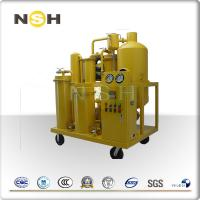 China Multi Function Lube Oil Purifier System / SS Portable Lube Oil Purifier on sale