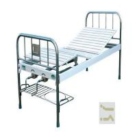 Buy cheap Normal Simple Metal Manual Hospital Bed , Hospital Steel Bed CE ISO Approved from wholesalers
