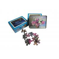 Quality 22x30cm 3d Lenticular Jigsaw Puzzles With 80pcs For Kids Intelligence Educational wholesale