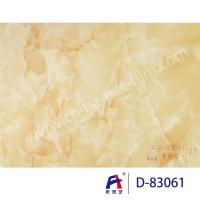 Quality Blue Sky Wear Resistance PVC Decorative Film , Pvc Ceiling Film Simulation Of Marble wholesale