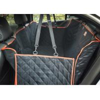 Quality Large Back Seat Cover For Dogs , Trucks / SUVs Dog Car Seat Protector wholesale