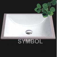 China Cupc Certificated American Undermount Bathroom Porcelain Sink (SS-U1813) on sale