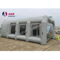 Quality Gray 8*5*3m Customized Portable Paint Booth Tent Car Paint For Promotion wholesale
