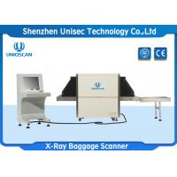 Quality 650 × 500 Mm Tunnel Size X Ray Baggage Scanner 40AWG Wire Resolution wholesale