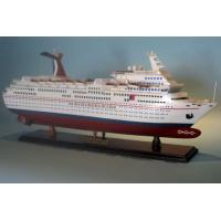 Custom Design Ecstasy Carnival Cruise Ship Models , Model Container Ship