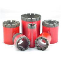 Quality Easy Operation Diamond Core Drilling Bits For Hard Rock Formation wholesale