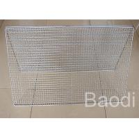 Quality Crimped Barbecue Grill Wire Mesh , Electro Galvanized Wire Mesh For Bbq  wholesale