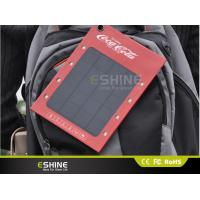 China Portable 3 W mono crystalline Square Solar Ads Charger, Solar Panel Mobile Charger on sale