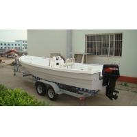 China Erosion Resistant Fiberglass Fishing Boats Easy Operate 6.8 M For Water Parks on sale