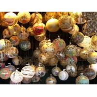 Quality Christmas Decoration Christmas Glass Ornament Skier Hanging Ornament wholesale