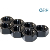 China DIN 971 FINE THREAD HEX NUTS M8-M39 cold forging and hot forging ZP YZP HDG BLACK color with class 6 8 10 on sale