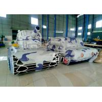 China Outdoor Laser Tag Equipments Inflatable Tank Inflatable Army Commercial Use for outdoor inflatable paintball field on sale