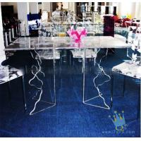 Cheap acrylic cheap bar table sets for sale