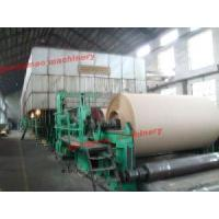 China 1880mm High Quality Double-Dryer Can and Multi-Cylinder Kraft Paper Machine on sale
