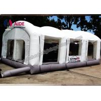 Quality Open Face Dry Blow Up Spray Booth / Portable Auto Paint Booth For Mechanical Workshop wholesale