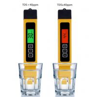 Quality Filter Water Reverse Qsmosis Quality Purity 0-9990 ppm,3 in 1, LCD digital tds 3 meter, Tds, Ec and Temp Meter wholesale