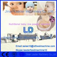 China 304 Stainless Steel Nutritional baby rice powder machine/baby rice powder production line on sale