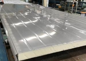 China 50mm Food Storage Stainless Steel PU Foam Sandwich Panel on sale