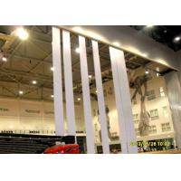 Ultra High Partition Wall Wood Veneer Finish , Operable Partition System Aluminum Frame