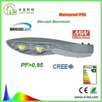 Quality IP65 100W LED Street Light High CRI Beam Angle 120 ° , Outdoor Street Lamps wholesale