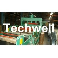 Quality 4 - 8m/min Steel Silo Corrugated Wall Panel Roll Forming Machine For Galvanized Sheet wholesale
