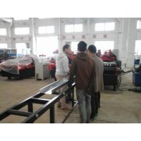 Quality C / Z Profile Cold Forming Machine Use Metal Wheels Rolling System For 4mm Thickness Plate wholesale