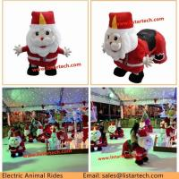 Hot Sale Europe and American Christmas Gifts Kiddie Animal Rides on Horse Toy for Children