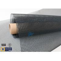 Quality PTFE Coated Fiberglass Fabric 4X4MM Black Heat Tunnel Conveyor Belt wholesale