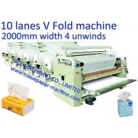 China 200mm Interfolded Facial Tissue Paper Machine on sale