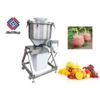 China High Speed Fruit Juice Extractor Machine , 120L Juice Processing Equipment on sale
