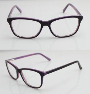 Cheap Lightweight Custom Made Eyeglass Frames , Mens / Womens Acetate Optical Frames for sale
