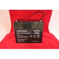 Quality Solar UPS Power Supply , 12v80ah Deep Cycle Lead Acid Battery For Emergency Lighting wholesale