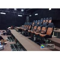 Quality Comfortable 4D Cinema Seat With Pu Or Genuine Leather Seats wholesale