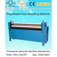 Quality Manual Feeding Sheet Pasting Machine to Make Single Facer Corruagted Board wholesale