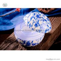 China Humidifier Blue White Porcelain Ultrasonic Air Humidifier Aroma Essential Oil Diffuser Aromatherapy for Home Office SPA on sale